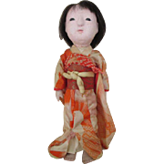 Vintage Japanese Ichimatsu Doll in Original Costume