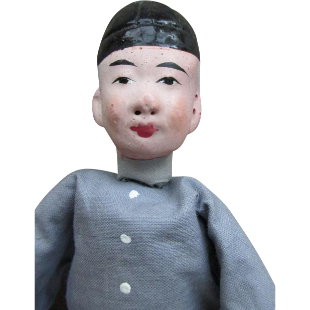 Vintage Chinese Peasant Doll