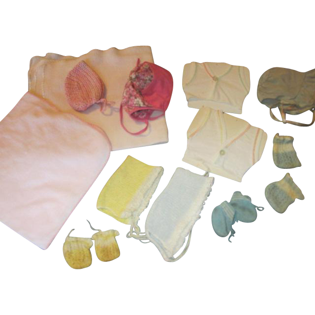 Vintage Dy Dee Baby or Tiny Tears Layette Items