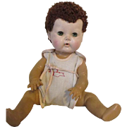 Vintage Tiny Tears Doll in Signature Sun Suit