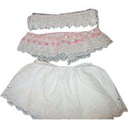 Vintage Lace for Doll Dress and Hat Making