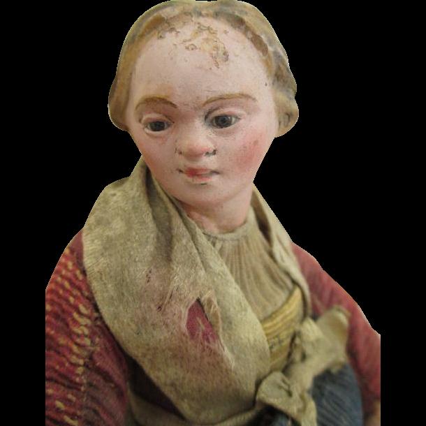 Antique Neapolitan Creche Figure