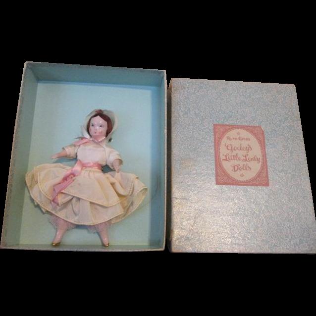 Antique Ruth Gibbs Doll in Original Box