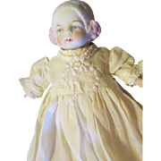 Adorable Bonnet Head Doll for Your Doll House