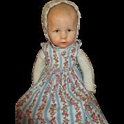 Vintage Kathe Kruse Hampelchen Baby doll