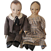 Primitive Looking Artist Dolls by Judie Tasch