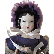 Antique Ruth Gibbs Doll - All Original with Tag