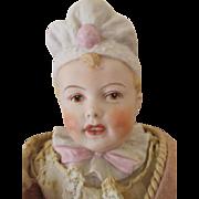 Beautiful Bonnet Head Doll
