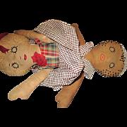 Vintage Cloth Topsy Turvy Doll