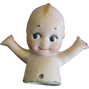 Antique Kewpie Half Doll