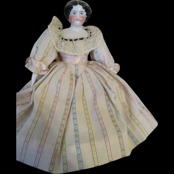 Pretty Antique China Doll Head