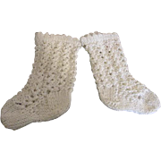Beautiful Crocheted Doll Stockings