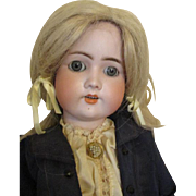 CM Bergmann Simon Halbig Bisque Head Doll