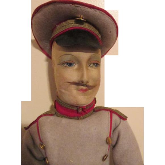 Rare Soldier Boudoir Doll