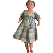 Sweet Antique Wax Doll