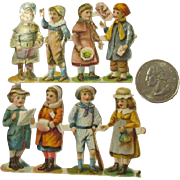 Antique German Die Cuts for Dolls