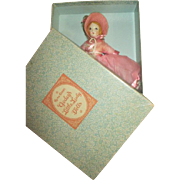 Vintage Ruth Gibbs Godey's Little Lady Doll in Original Box - Never Removed - Red Tag Sale Item