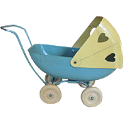 Vintage Metal Doll Carriage or Buggy