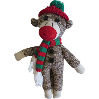 Little Sock Monkey for Your Doll
