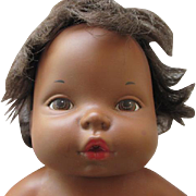 vintage Black Baby Tender Love Doll - Anatomically Correct