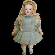 Pretty Antique German All Bisque Doll