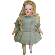 Pretty Antique German All Bisque Doll