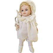 Vintage All Bisque Doll - Museum Doll