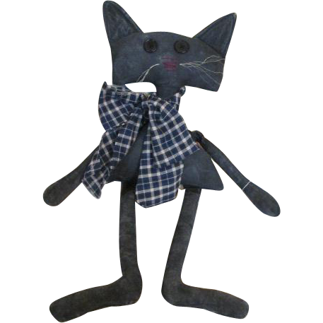 Adorable Artist Cat Doll
