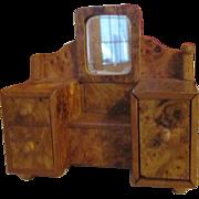 Vintage Art Deco Doll House Dresser