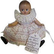 Rare Wee Patsy Doll with Original Dress
