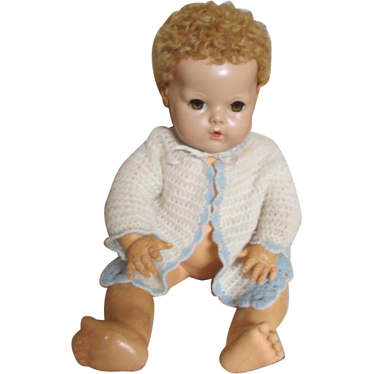 Vintage Sweater for your Dy-Dee Baby Doll