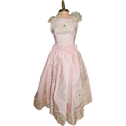 Pink Summer Dress for your Cissy, Miss Revlon, or other vintage Fashion Doll