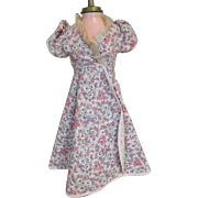 Vintage Pink Floral Dress for Cissy, Miss Revlon, or other Fashion Doll