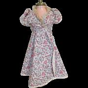 Vintage Pink Floral Dress for Cissy, Miss Revlon, or other Fashion Doll