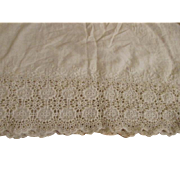 Wide Antique Trim For Doll Dress Making
