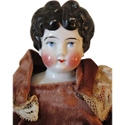 Apple Cheek China Head Doll