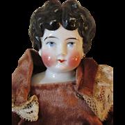 Apple Cheek China Head Doll