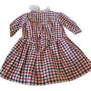 Pretty Drop Waist Dress for your Antique Doll