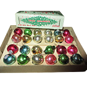 Doll Sized Christmas Ornaments in Original Box