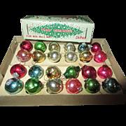 Doll Sized Christmas Ornaments in Original Box