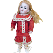 """Tiny Rare 7"""" Simon Halbig 1375 Bisque Head Doll with Composition Jointed Body"""