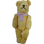 """Darling 6.5"""" Vintage German Teddy Bear for Your Antique Doll"""