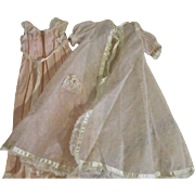 Vintage Cissy Night Gown and Robe Set - Red Tag Sale Item