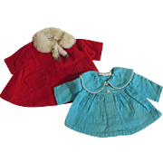 Vintage Chatty Cathy and Chatty Baby Coats