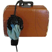 French Fashion Suitcase with Toiletry Items and other items