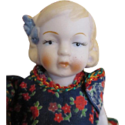 Adorable All Bisque Doll