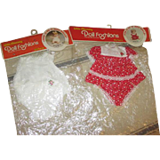 Vintage Factory Made Doll Outfits in Original Packaging
