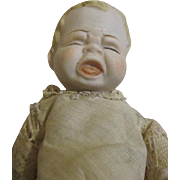 All Bisque Crying Baby Doll