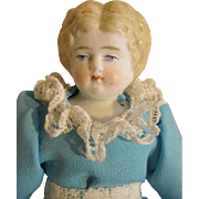 Pretty Blond China Head Doll