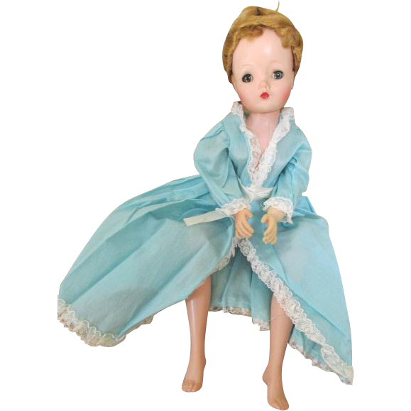 Vintage Blue Robe for Cissy